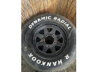 Hankook wheel 195 r15