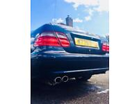 RARE SUNROOF V8 4.3 MERCEDES CLK 430 AUTOMATIC CAR FOR SALE 280 BHP NOT C63 C43 AMG BMW AUDI VW