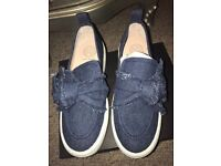 Kurt Geiger Blue Denim Pumps Size 6