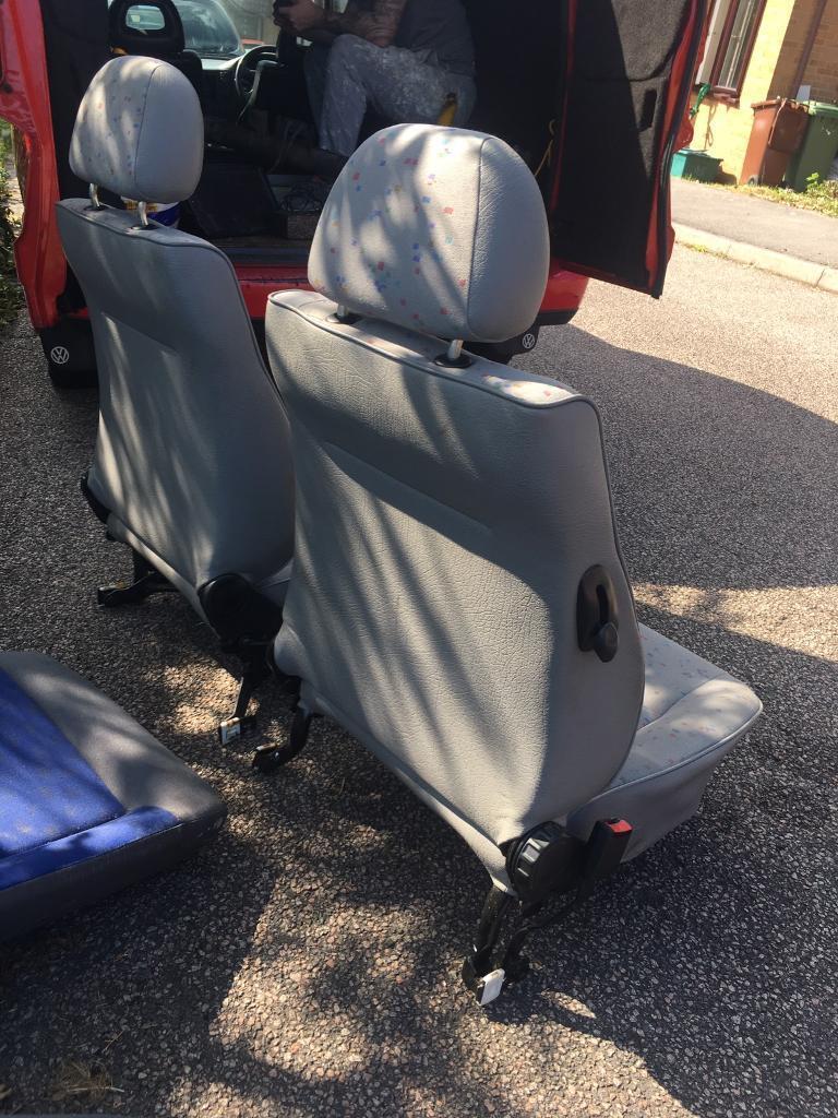 VW Caddy Mk2 Van Seats Rear Seat Conversion