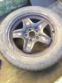 Spare wheel for Vauxhall insignia