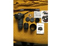 Canon EOS 1200D - with Canon EFS 18-55mm lens & SIGMA 70-300mm lens