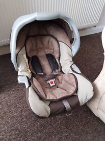 Car seat for small child