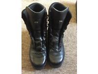 Lowa Black Gortex Boots. Size 9