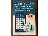 BIORB/BIUBE Multi colour LED bulb with remote control