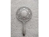 Antique vintage early 1900's hand mirror