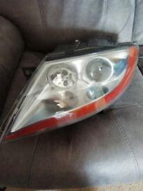 E85 Z4 passenger headlight unit