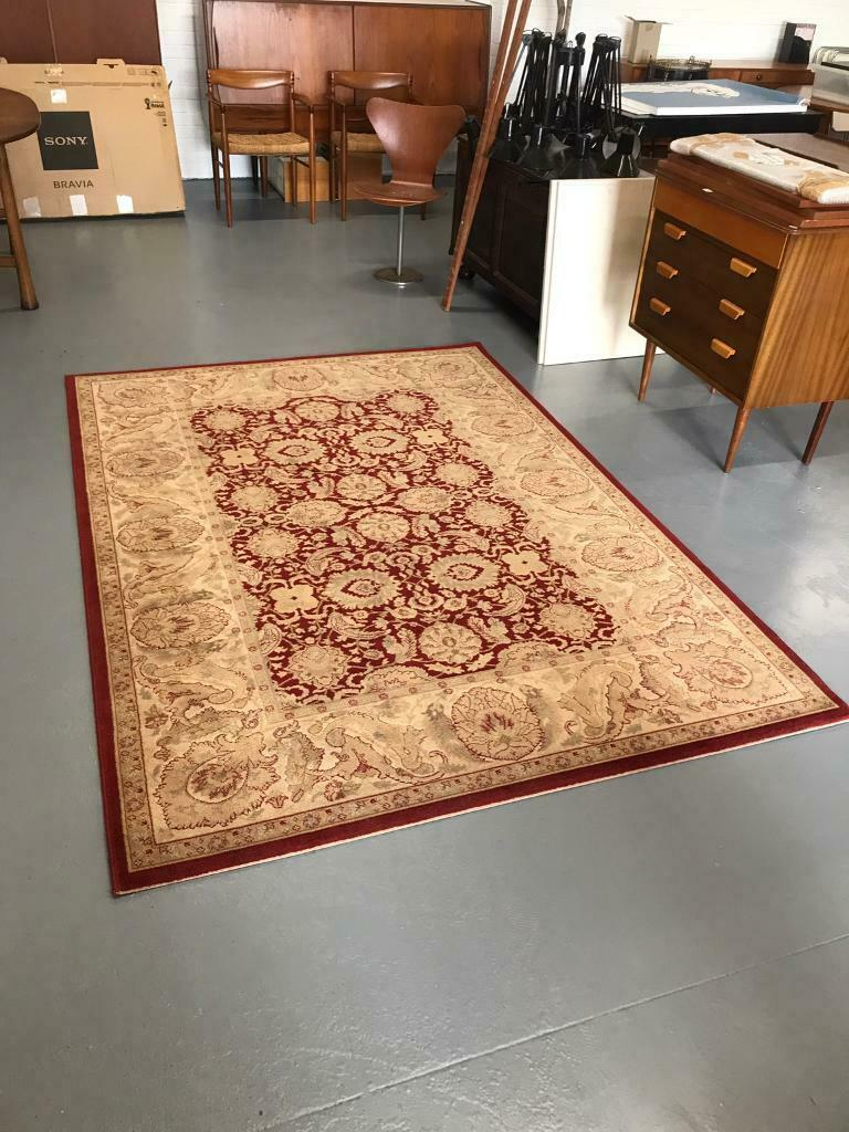 100 Wool Rug Carpet Made In Belgium Excellent Condition Perth And Kinross Gumtree