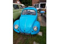 Classic Volkswagen beetle 1972