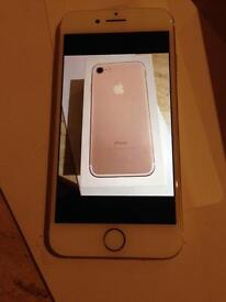 iPhone 7 32gb boxed, use on any network.