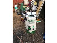 2-in-1 pressure washer &wet an dry vac