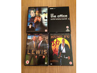 DVD BOXSET COLLECTION, KUNG FU, THE OFFICE, 24, LEWIS