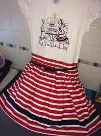 Stunning boutique dress age 7-8