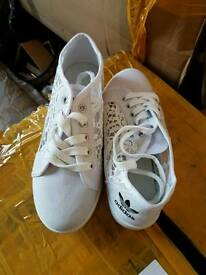 adidas ladies pumps shoes trainers size 4 5 6 7