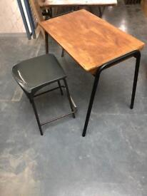 Vintage School desks Tops, & Desks lots to choose from