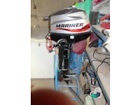 As new Used once Mariner 3.5 outboard engine