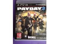 PS3 pay day 2
