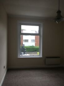 2 bedroom upstairs flat, kitchen and bathroom with shower. No gas/water bill