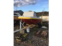 Wilson flyer 14ft boat 40hp mercury 2 stroke 2001