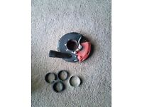 """4"""" Universal Grinder Cover With All Accessories"""