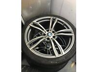 "20"" Bmw alloys suit 5 series f10 only 3 available!"