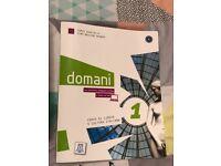 Domani Italian A1 new book with CD