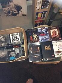 Dvds ( 180 approx ) and Cd s ( 90 approx )