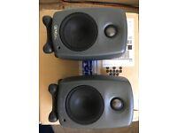 Genelec 8010a studio monitors (pair)