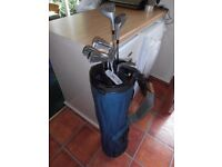 .STARTER / HALF-SET of Tiger-Shark 5 Irons -PLUS -2 Fairway Wood's, Putter & Bag.