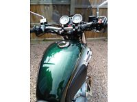 Kawasaki W800 with extras.