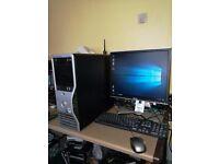 Dell Precision T3400 Core 2 Quad Q9400 Multimedia PC for Sale.