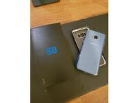samsung s8 64gb coral blue & gear VR