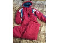 Girls snow suit age 11-12