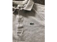 Boys (age 12) Lacoste t-shirts (set of 3)