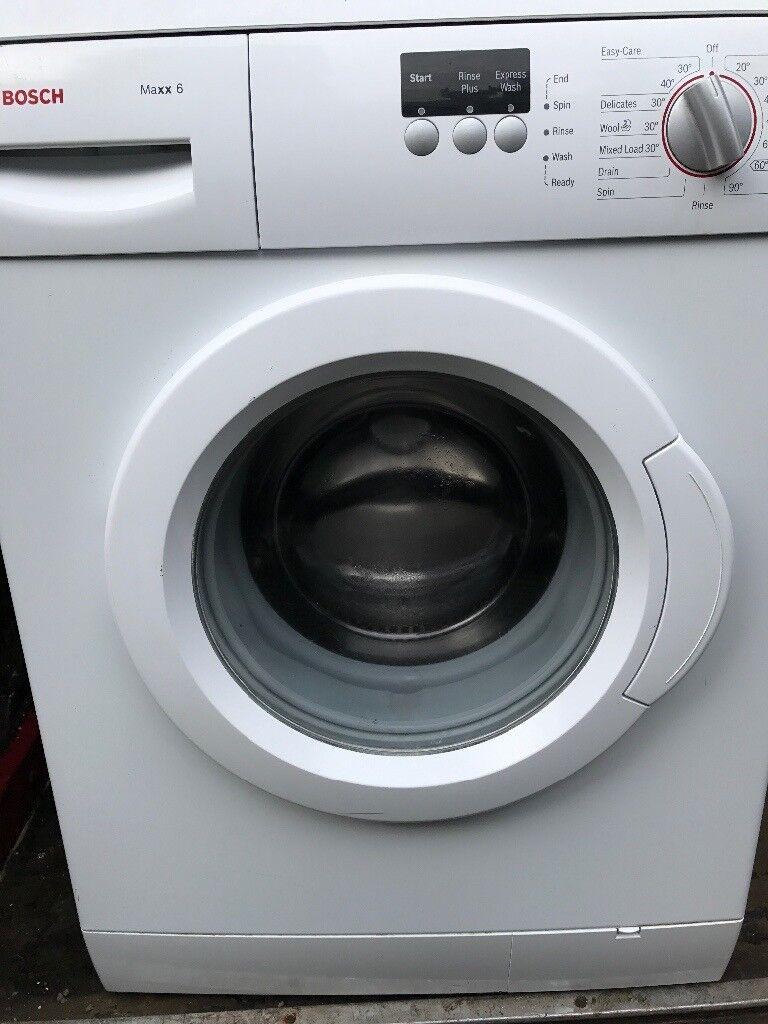 Bosch washing machine maxx 6 kg.....free delivery