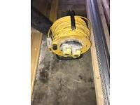 110v extension cable reel 25m