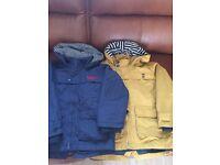 Kids jackets Two boys jasper Conran jackets