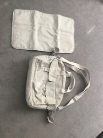 Kipling Change bag - light grey. Used but good condition