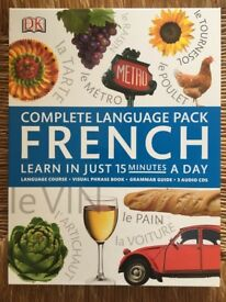 Dorling Kindersley Easy to Learn French pack with CDs, phrase book & grammar book