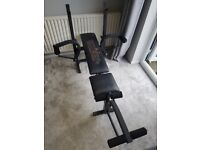 Weider exercise weights gym bench