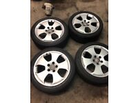 "Audi A3 Alloys 17"" with tyres"