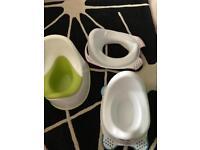 Potty toilet training seat