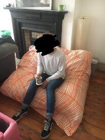 XL cushion/bean bag sofa
