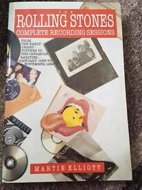 The Rolling stores complete recording sessions 63-89 by Martin Elliot