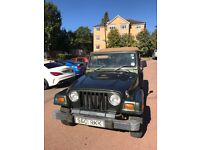 Jeep Wrangler Sahara 4.0 TJ 1998 Automatic (LOW MILEAGE) 67k Miles