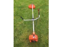 Echo strimmer with Stihl Oil