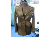 'A Brand New' Brown Leather Jacket