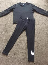 Nike tracksuit and converse joggers size 12