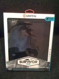 GRIFFIN SURVIVOR SLIM Screen and Case Protector for iPad - Brand New