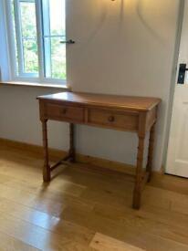 Antique Wooden Desk 90cm Wide
